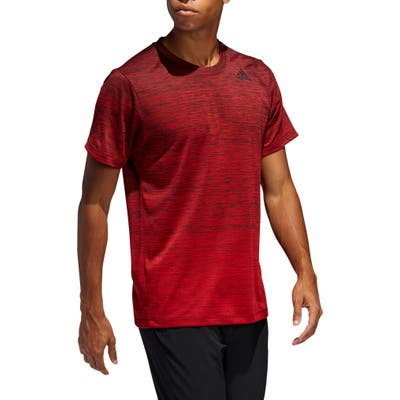 Adidas Gradient Climalite T-Shirt, Red