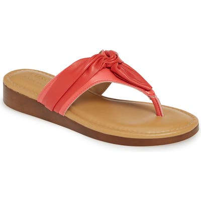 Tuscany By Easy Street Maren Flip Flop- Coral
