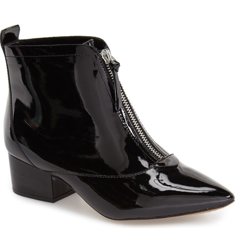 FRENCH CONNECTION 'Robrey' Pointy Toe Bootie, Main, color, 008