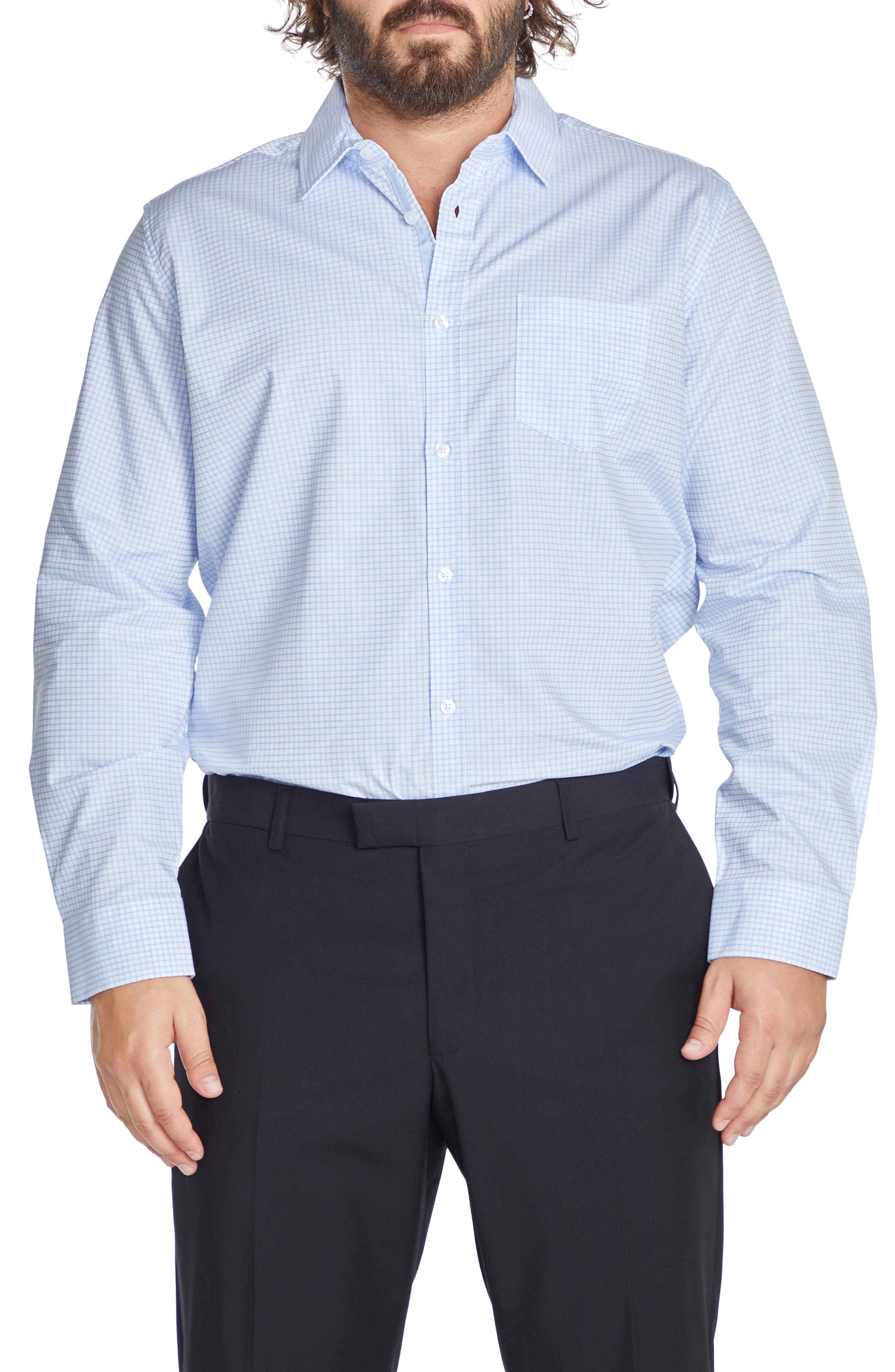 Sterling Check Button-Up Shirt