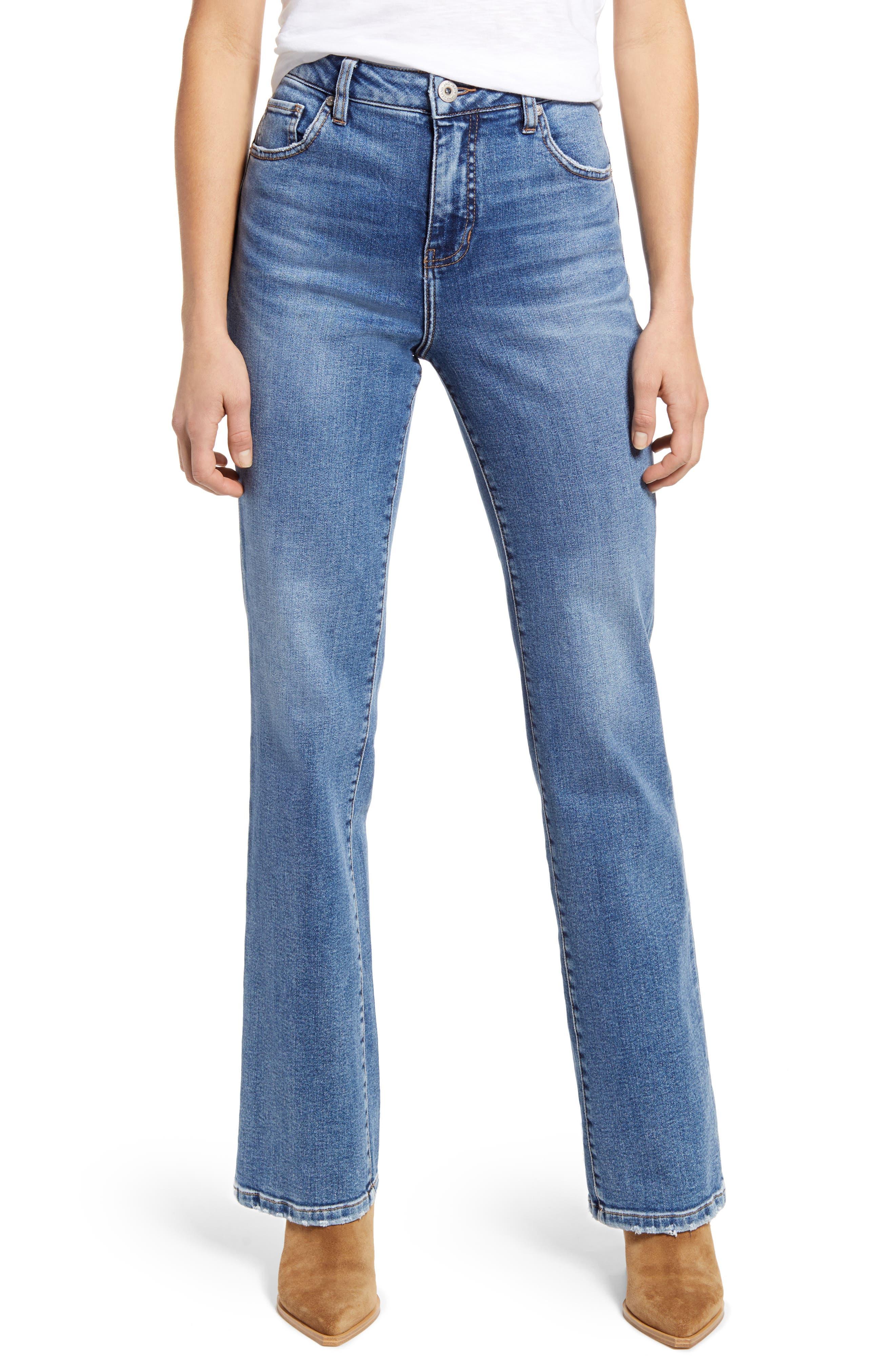Phoebe High Waist Bootcut Jeans
