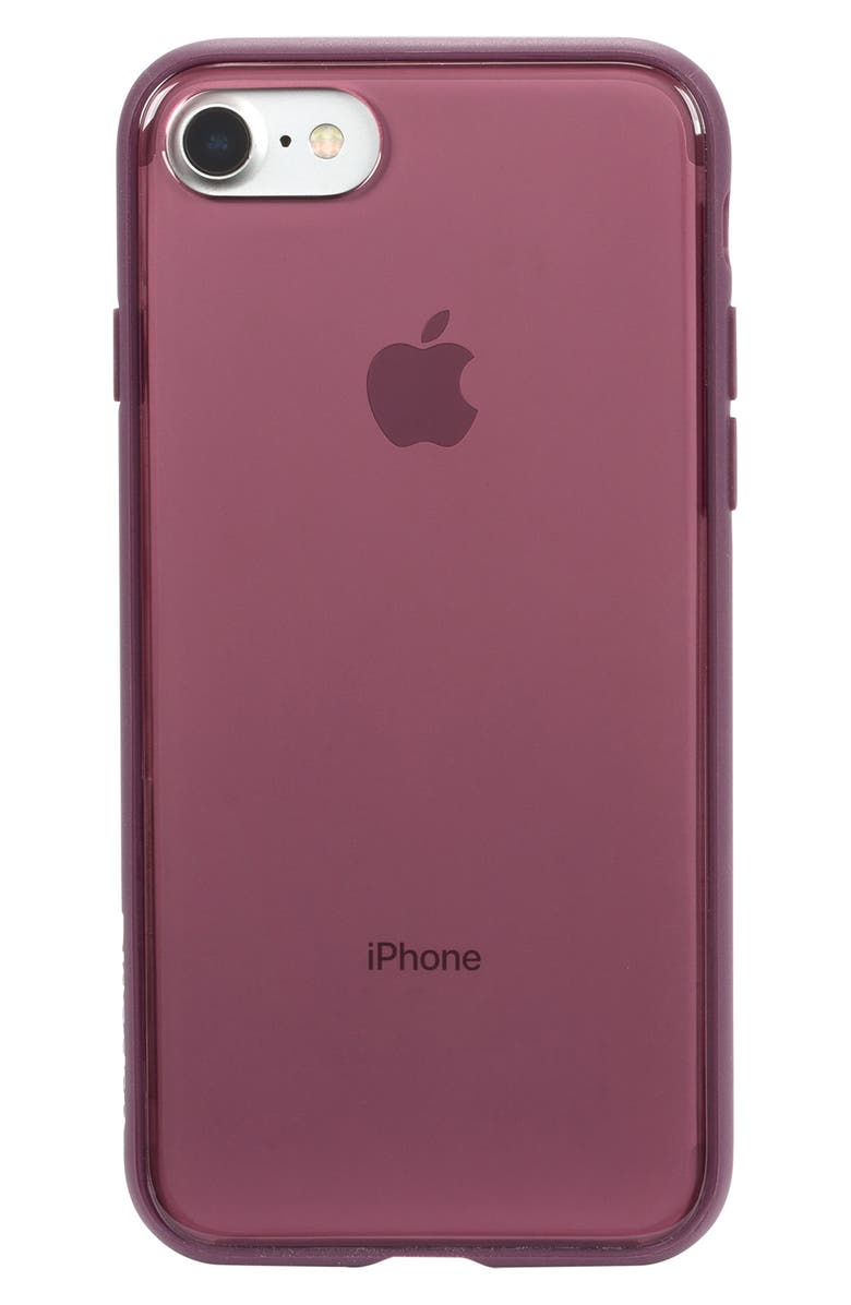 INCASE DESIGNS Pop iPhone 7/8 Case, Main, color, BERRY