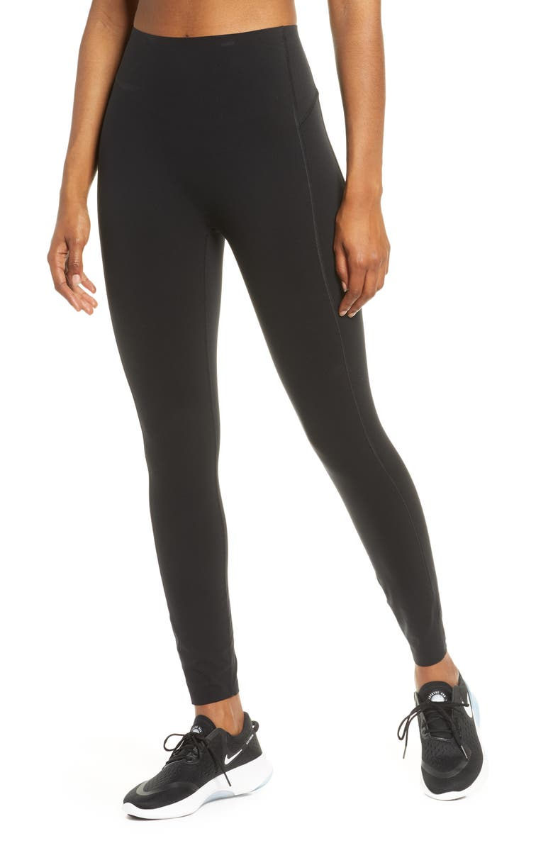 SPANX<SUP>®</SUP> Every·Wear<sup>™</sup> Icon Leggings, Main, color, VERY BLACK