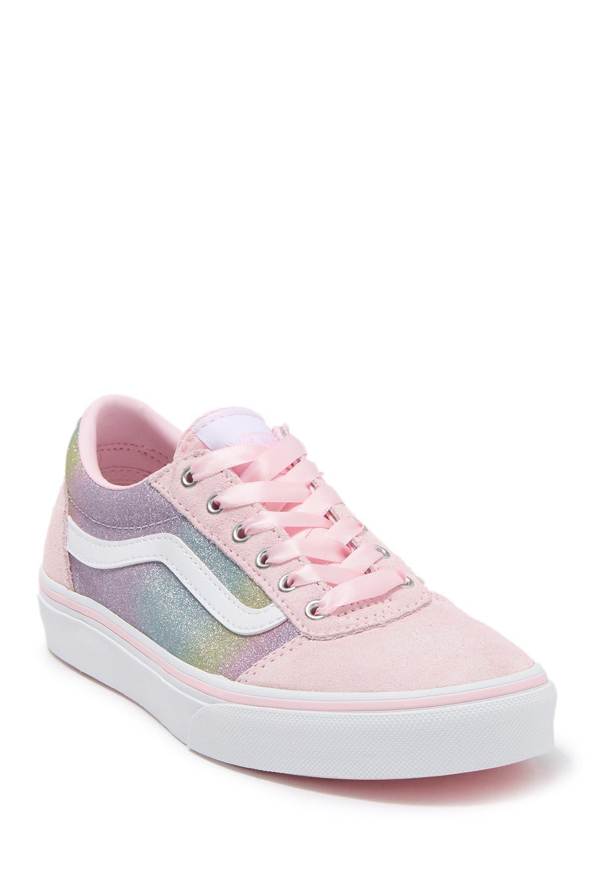 VANS | Ward Rainbow Glitter Sneaker