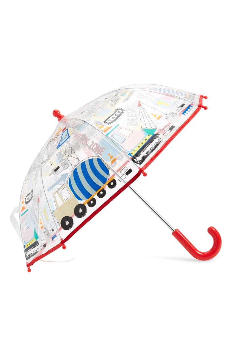 FLOSS & ROCK Construction Color Changing Umbrella, Main, color, RED