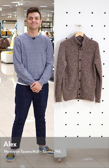 Vanoise Cashmere & Silk Button Cardigan, sales video thumbnail