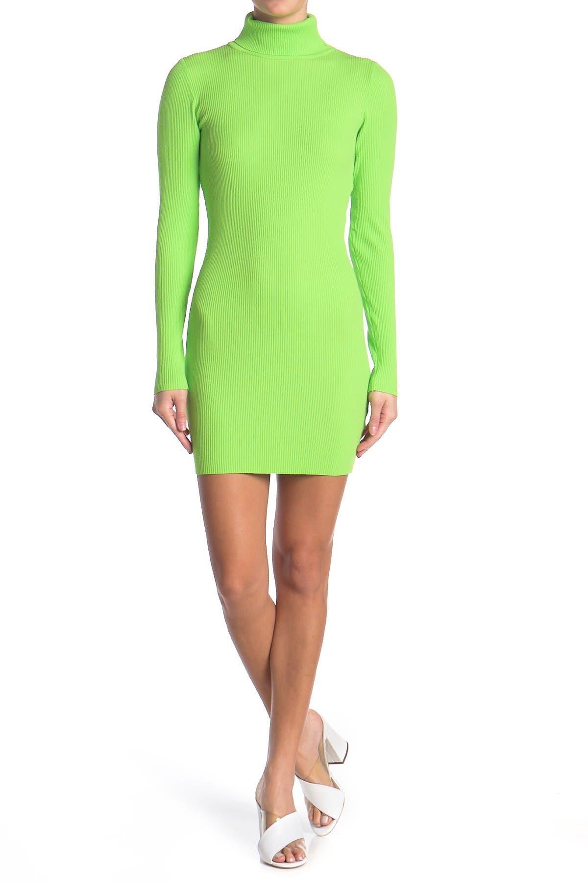 Image of re:named apparel Mona Turtleneck Sweater Dress