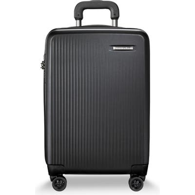 Briggs & Riley 22-Inch Domestic Expandable Spinner Wheeled Carry-On - Black