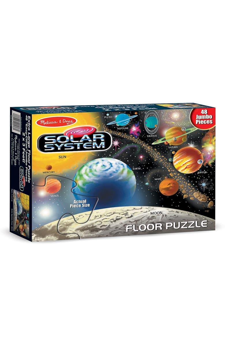 MELISSA AND DOUG Melissa & Doug 'Solar System' Floor Puzzle, Main, color, NO COLOR