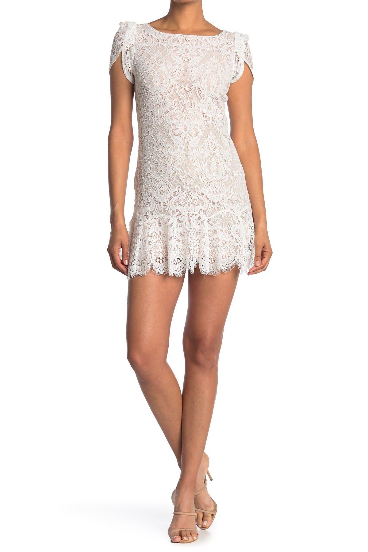 Image of BB Dakota Fast Lace Environment Dress