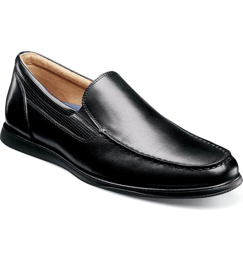 FLORSHEIM Atlantic Venetian Loafer, Main, color, BLACK