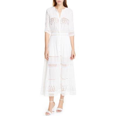 Loveshackfancy Beth Maxi Dress, White