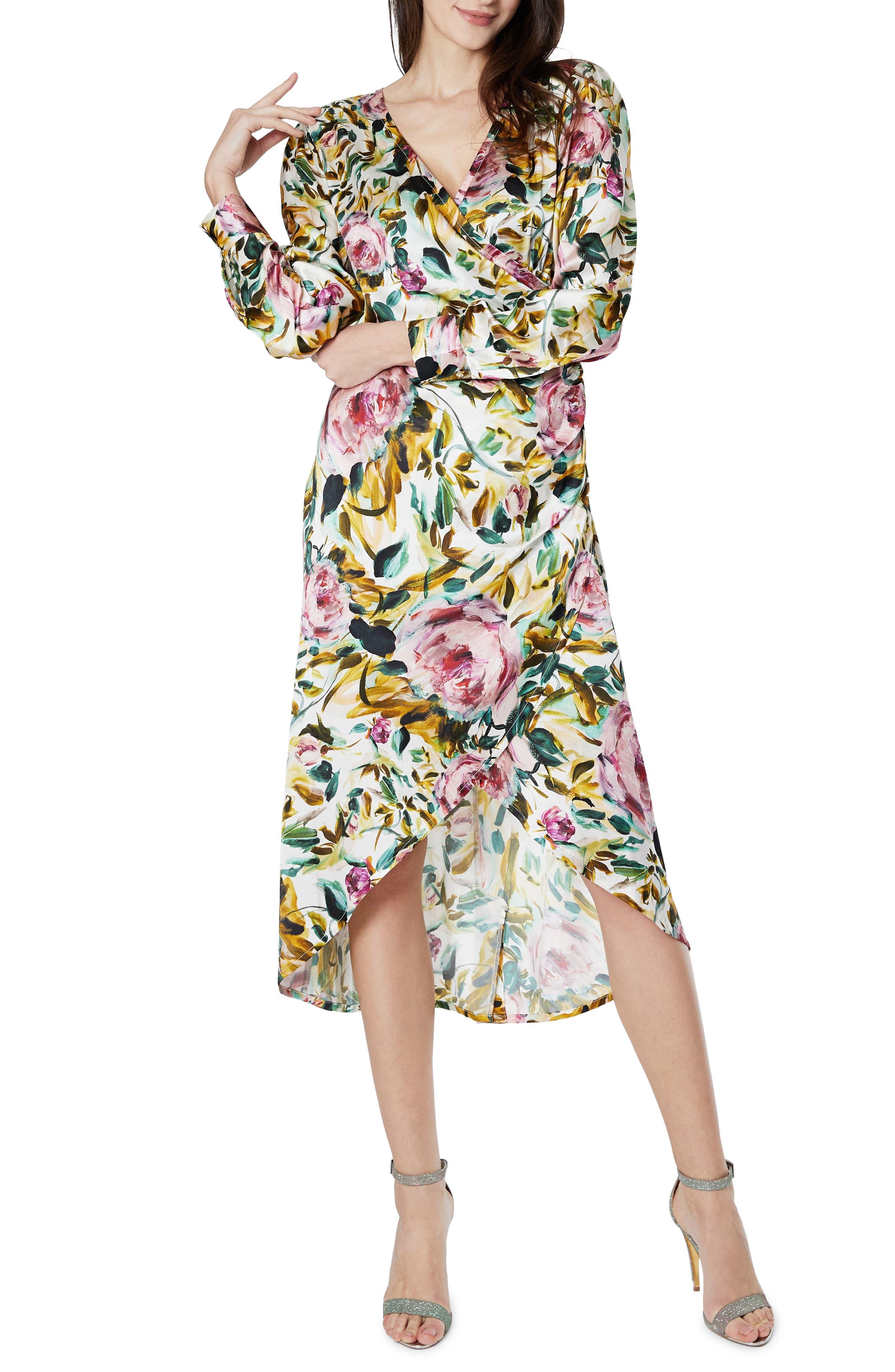 Selina Long Sleeve Maternity/nursing Dress