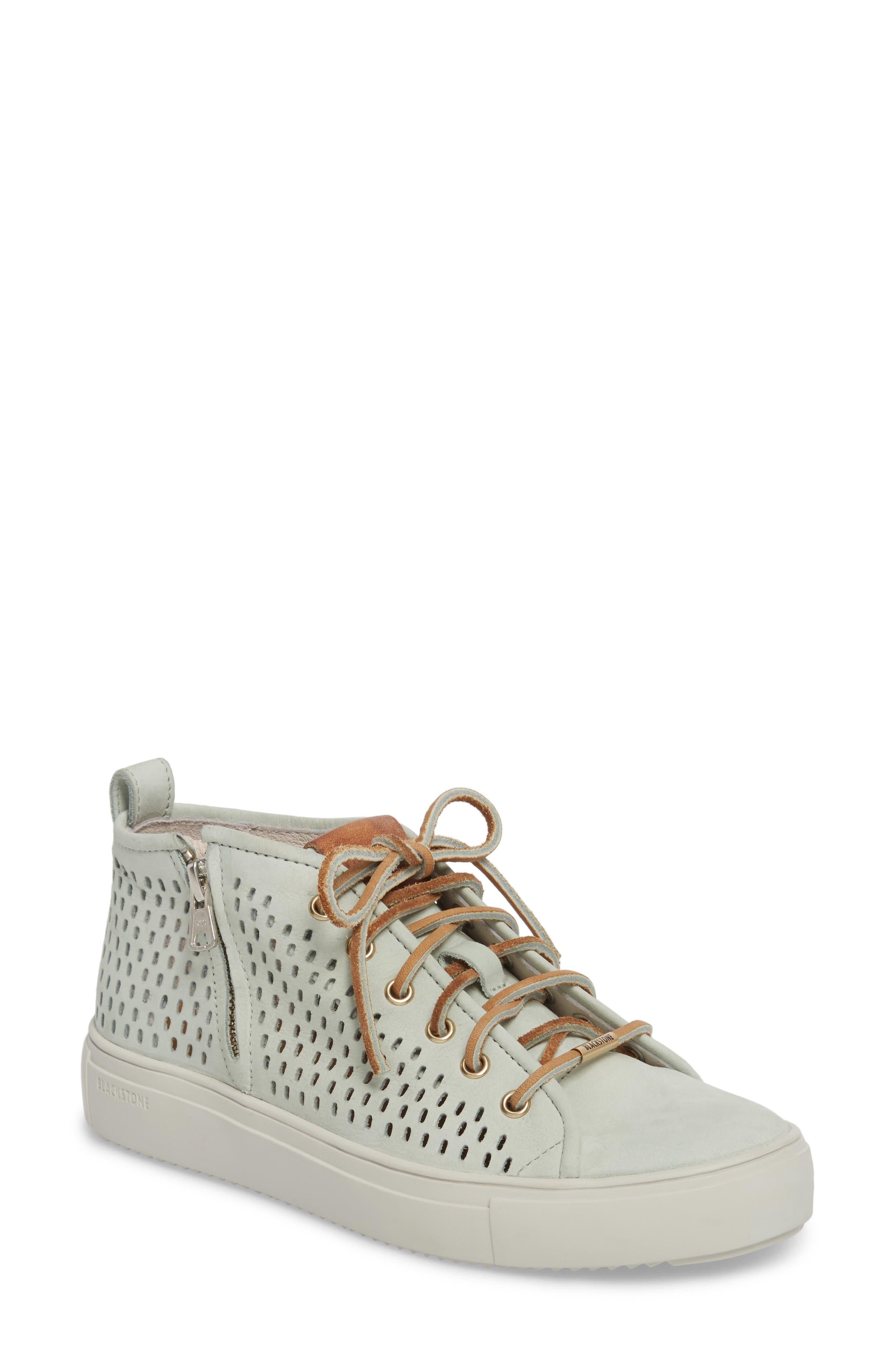 Blackstone Pl88 Zipper Sneaker Green