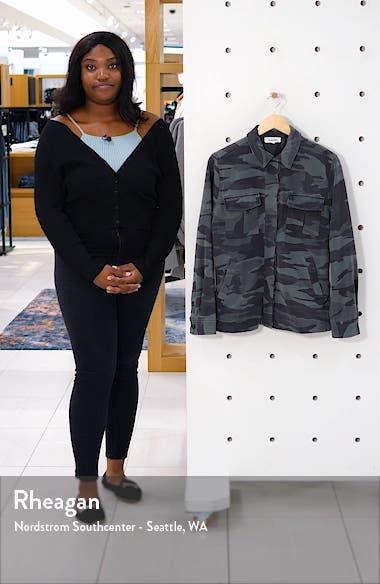 Camo Cargo Shirt Jacket, sales video thumbnail