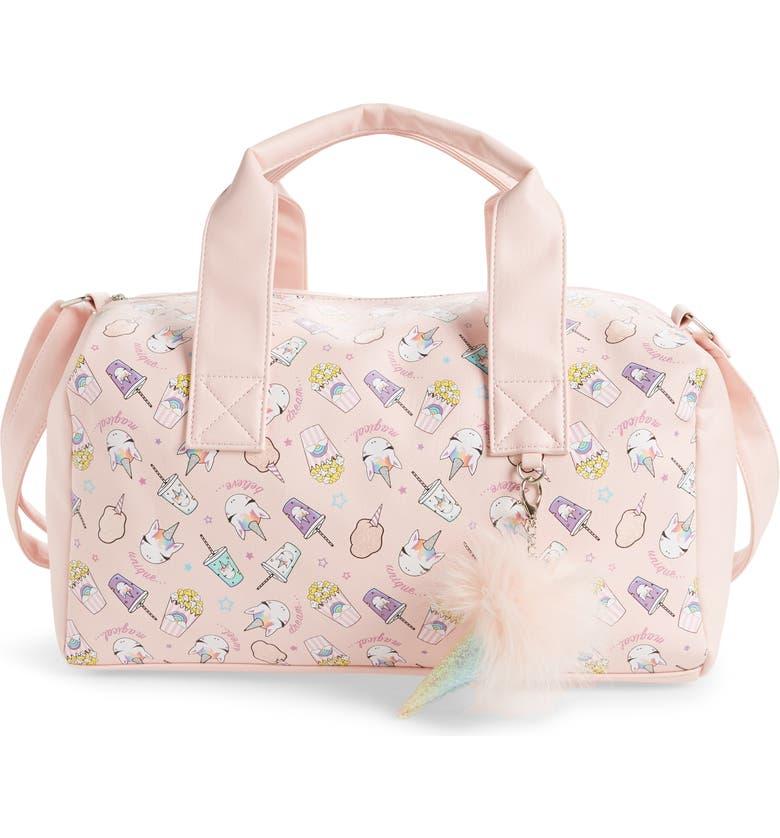 OMG ACCESSORIES OMG Unicorn Treats Duffle Bag, Main, color, 650