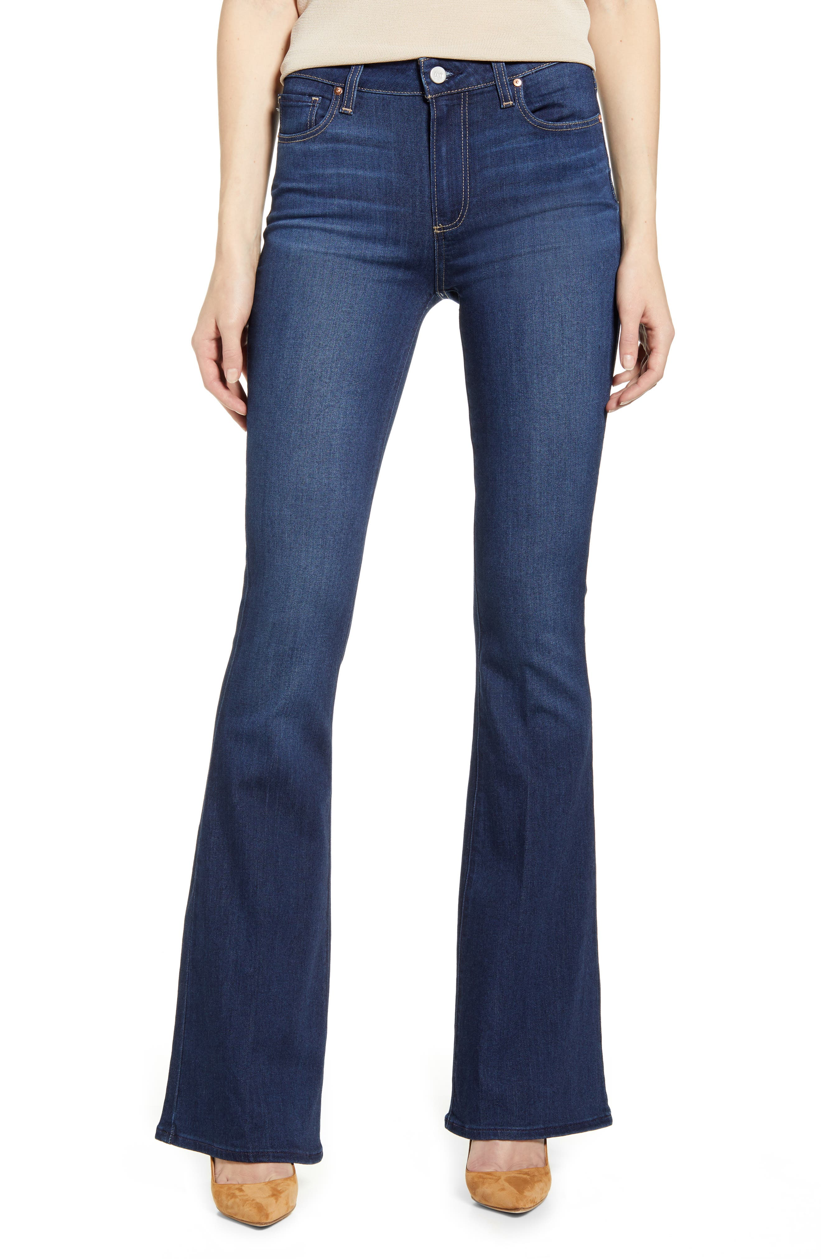 PAIGE Womens High Rise Bell Canyon