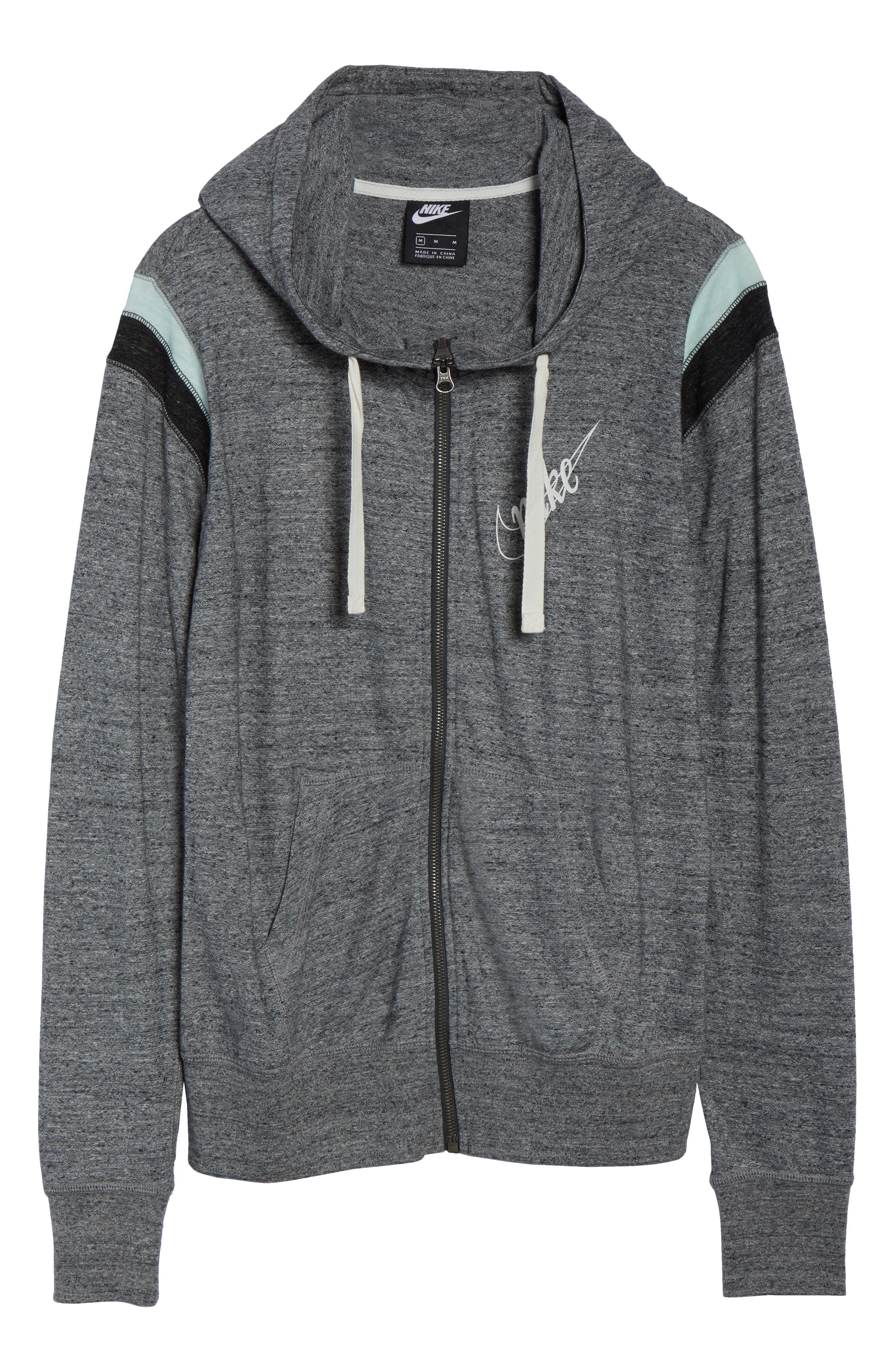 ,                             Sportswear Gym Vintage Zip Hoodie,                             Alternate thumbnail 14, color,                             091
