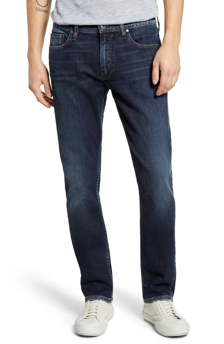 PAIGE Transcend Federal Slim Straight Leg Jeans, Main, color, BRODERICK