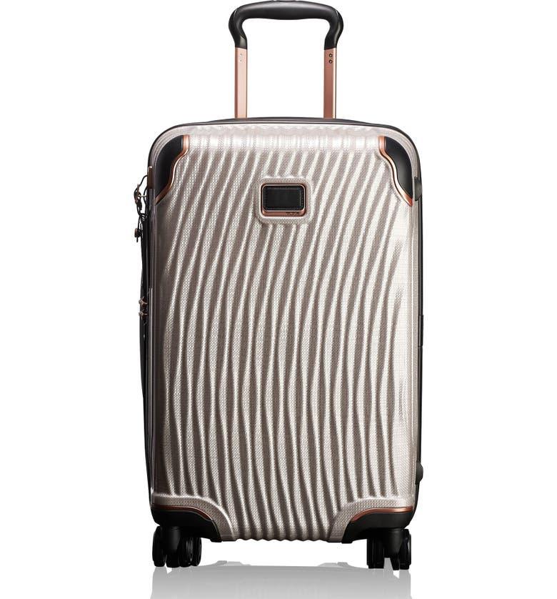 TUMI Latitude 22-Inch International Rolling Carry-On, Main, color, BLUSH