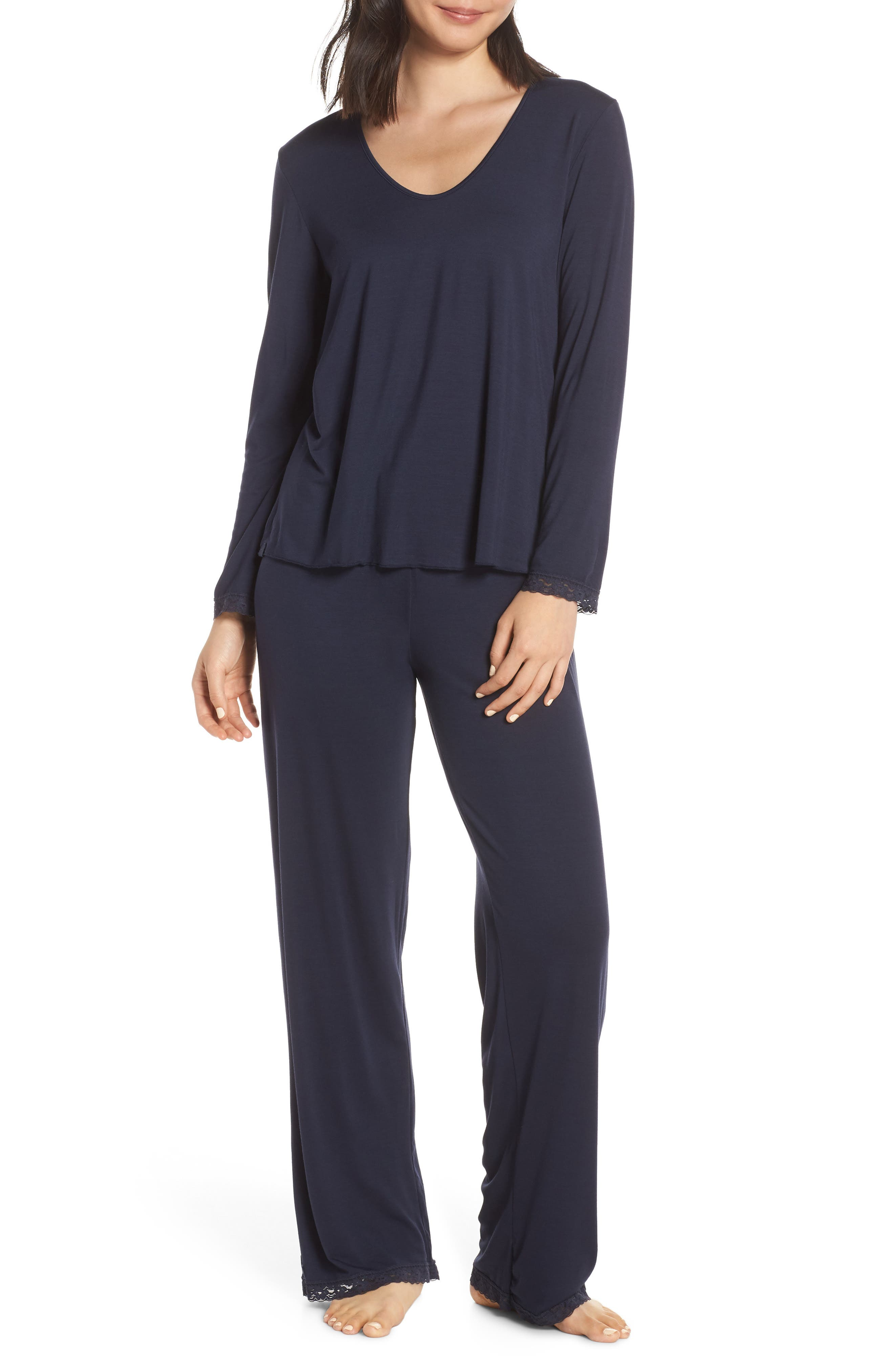 Women's Barefoot Dreams Luxe Jersey Pajamas