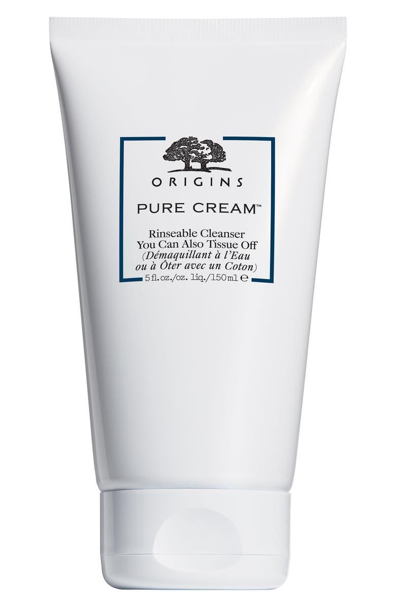 ORIGINS Pure Cream<sup>™</sup> Rinsable Cleanser, Main, color, NO COLOR
