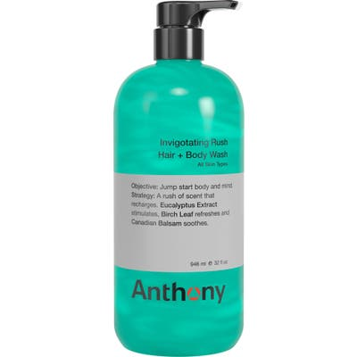 Anthony(TM) Jumbo Invigorating Rush Hair & Body Wash