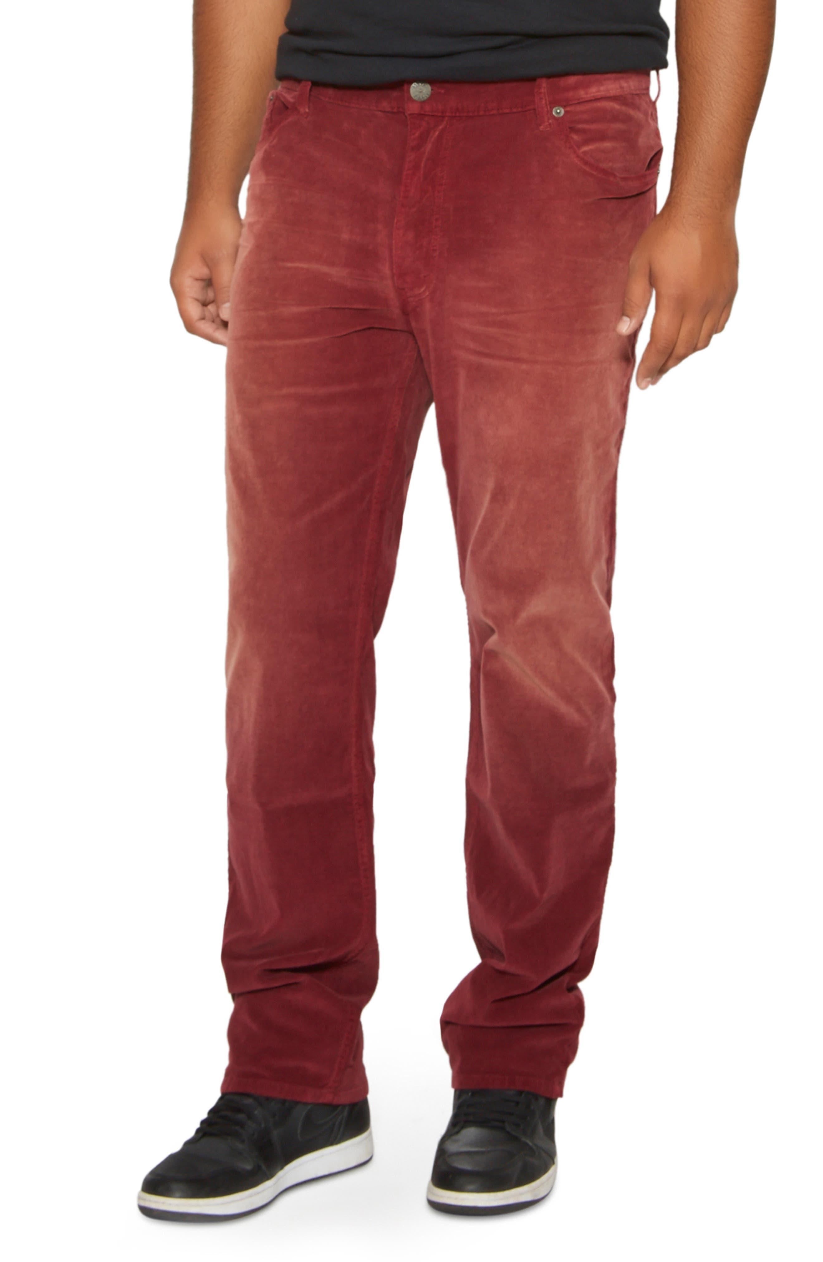 Straight Leg Corduroy Jeans