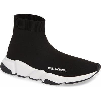 Balenciaga Speed High Slip-On, Black