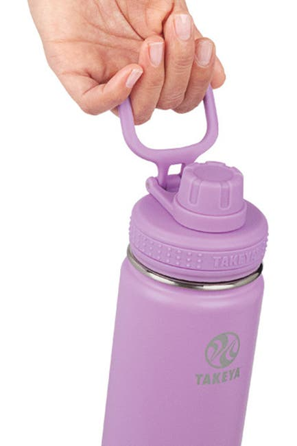 Image of Takeya Lilac Actives Insulated 24 oz. Spout Lid Stainless Steel Bottle