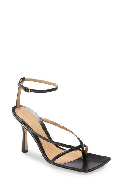 BOTTEGA VENETA STRETCH SQUARE TOE SANDAL