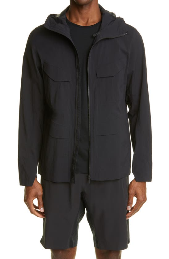 Veilance SPERE LT TERRATEX WATER REPELLENT HOODED JACKET