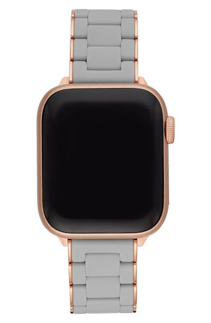 Michele APPLE WATCH WRAPPED SILICONE BRACELET STRAP