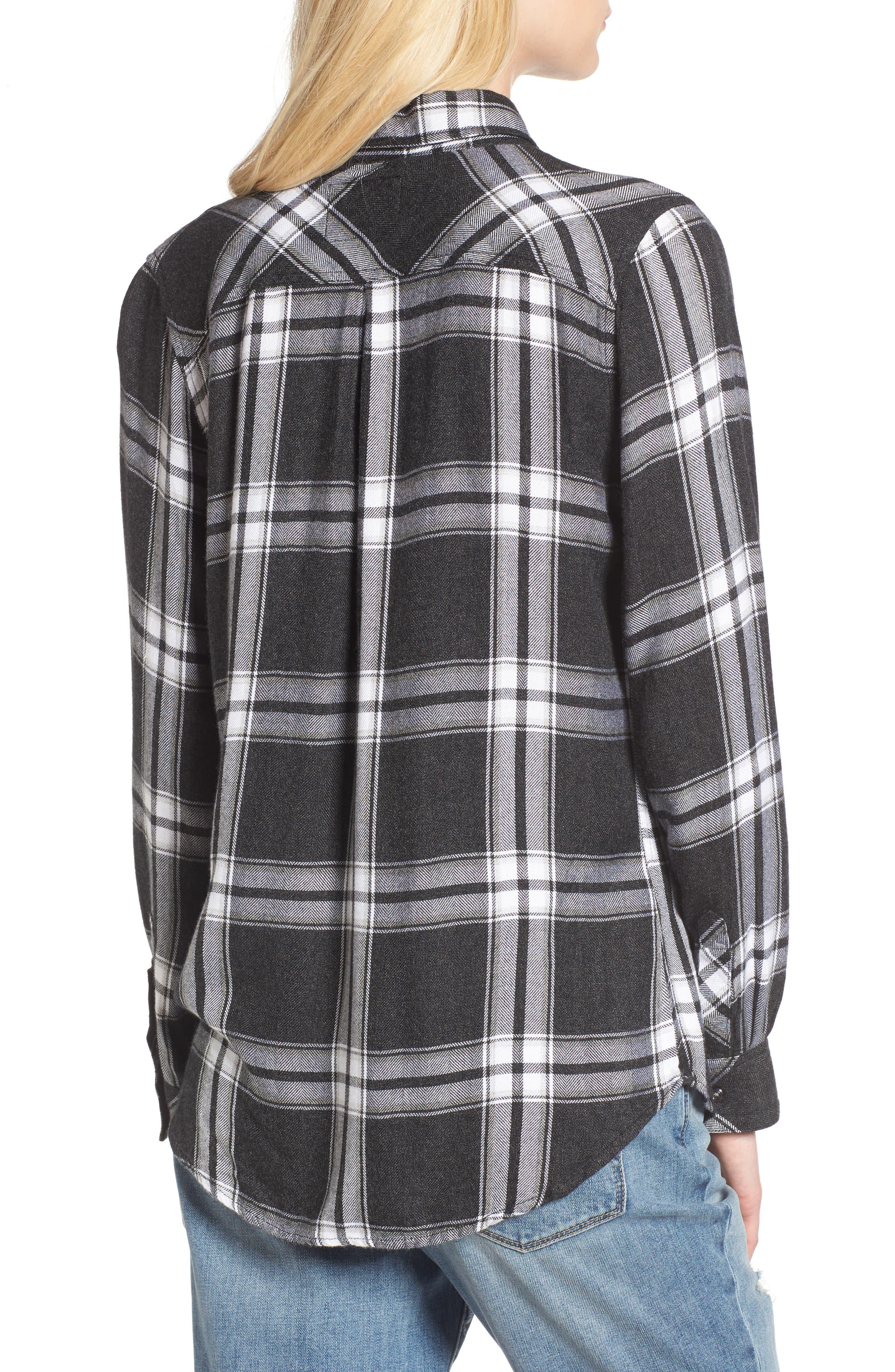 ,                             Hunter Plaid Shirt,                             Alternate thumbnail 520, color,                             013