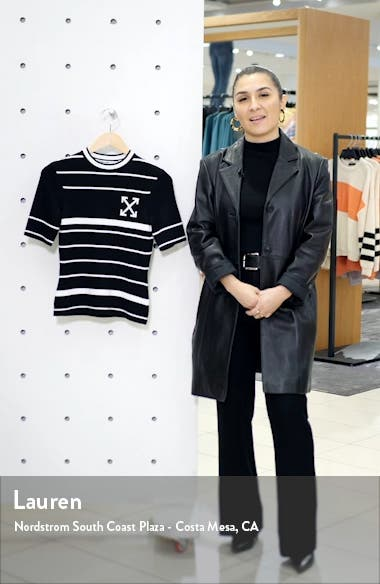 Arrow Stripe Sweater, sales video thumbnail