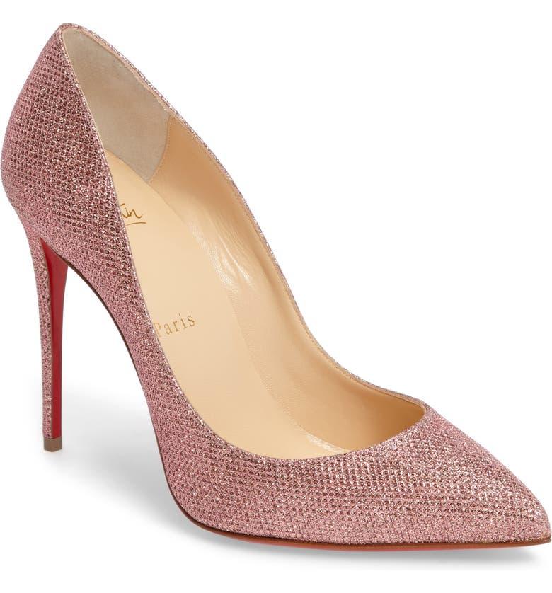sports shoes 46d6c dce27 Pigalle Follies Woven Glitter Pump