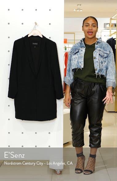 Long Shawl Collar Blazer, sales video thumbnail