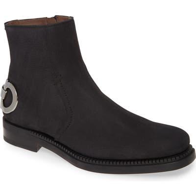 Salvatore Ferragamo Bankley Zip Boot