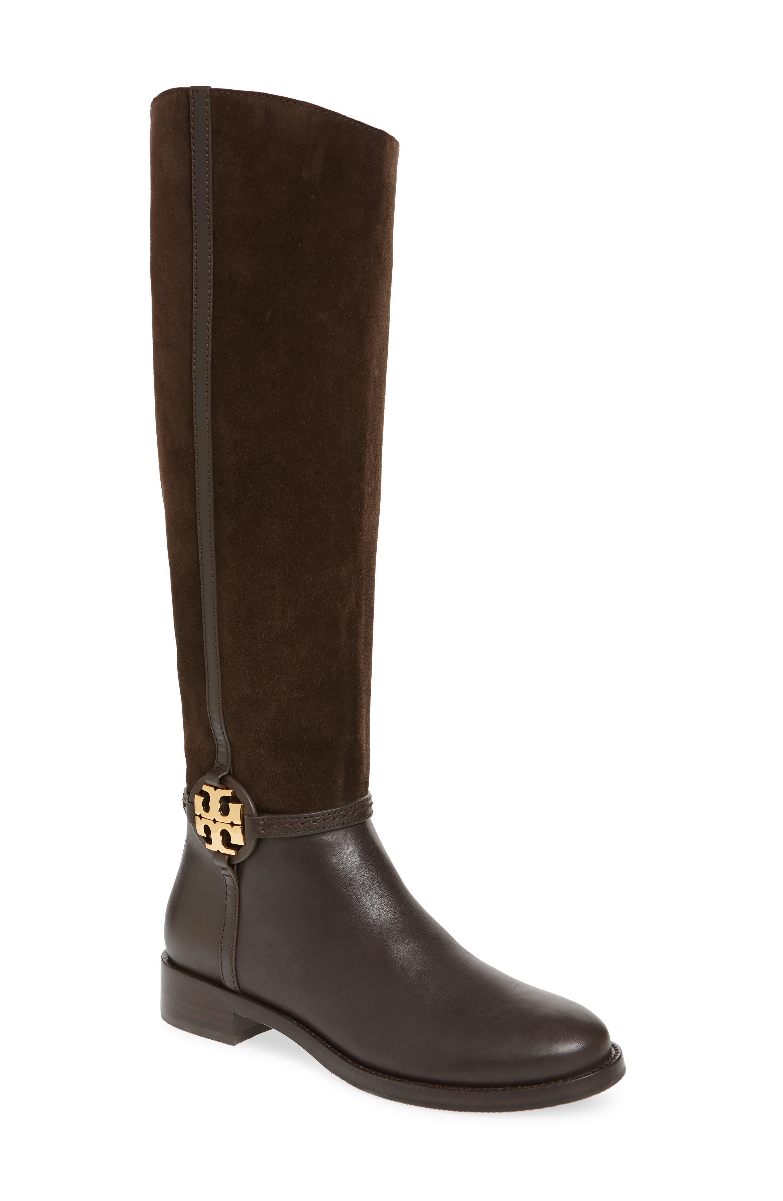 Tory Burch Miller Knee High Boot (Women)