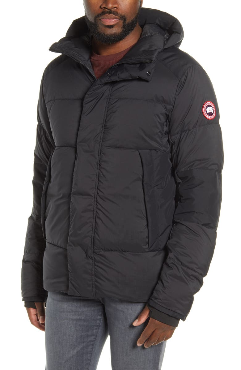 CANADA GOOSE Armstrong 750 Fill Power Down Jacket, Main, color, BLACK