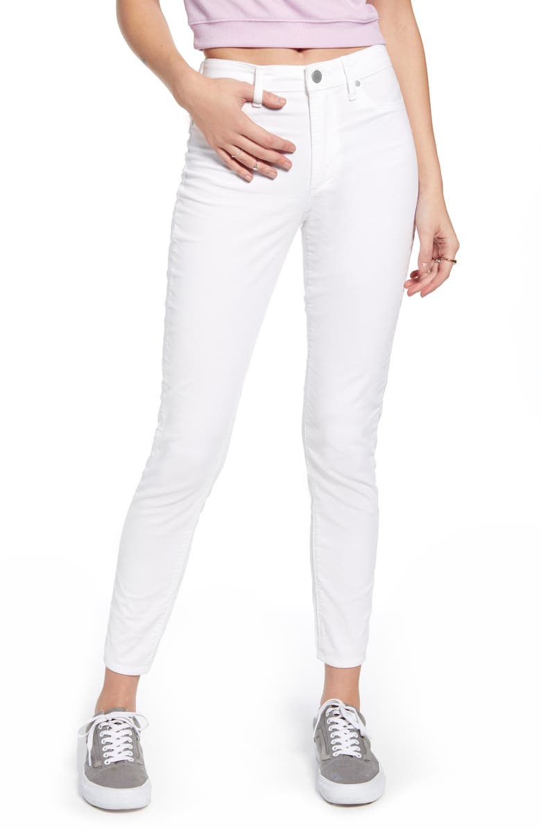 ARTICLES OF SOCIETY Hilary High Waist Ankle Skinny Jeans, Main, color, PINON