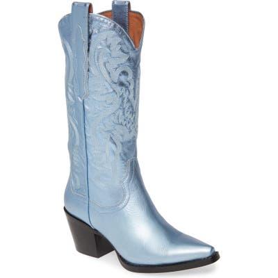 Jeffrey Campbell Dagget Western Boot, Blue