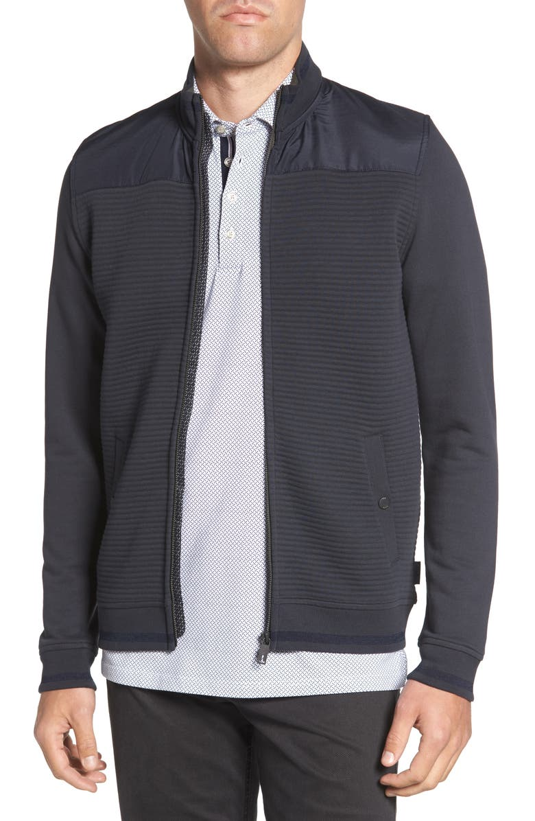 TED BAKER LONDON Sardin Quilted Jacket, Main, color, 410