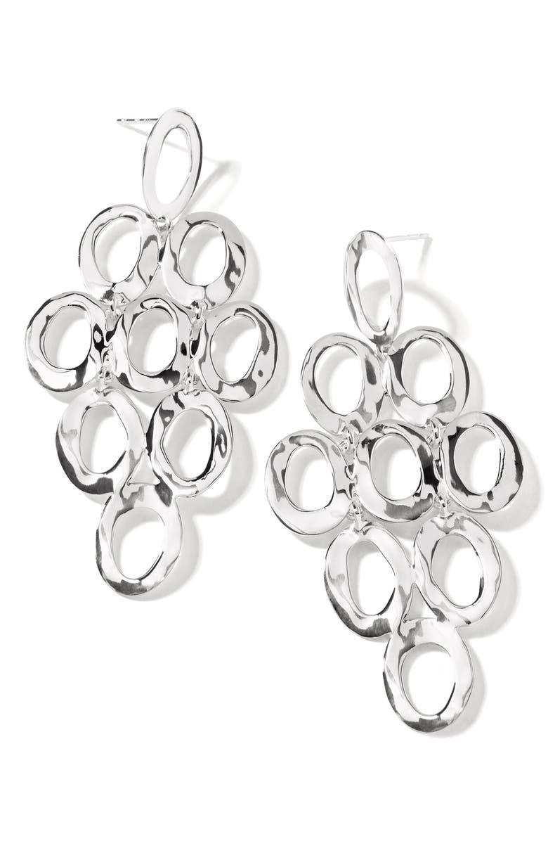 IPPOLITA Open Oval Cascade Earrings, Main, color, 040