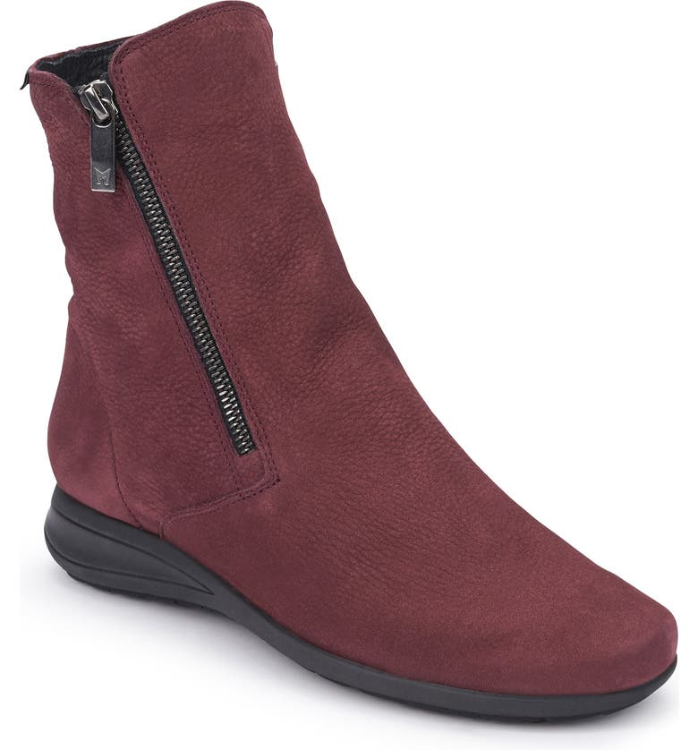 MEPHISTO Nessia Bootie, Main, color, WINE LEATHER