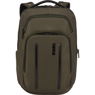 Thule Crossover 2 20-Liter Laptop Backpack With Rfid Pocket - Green