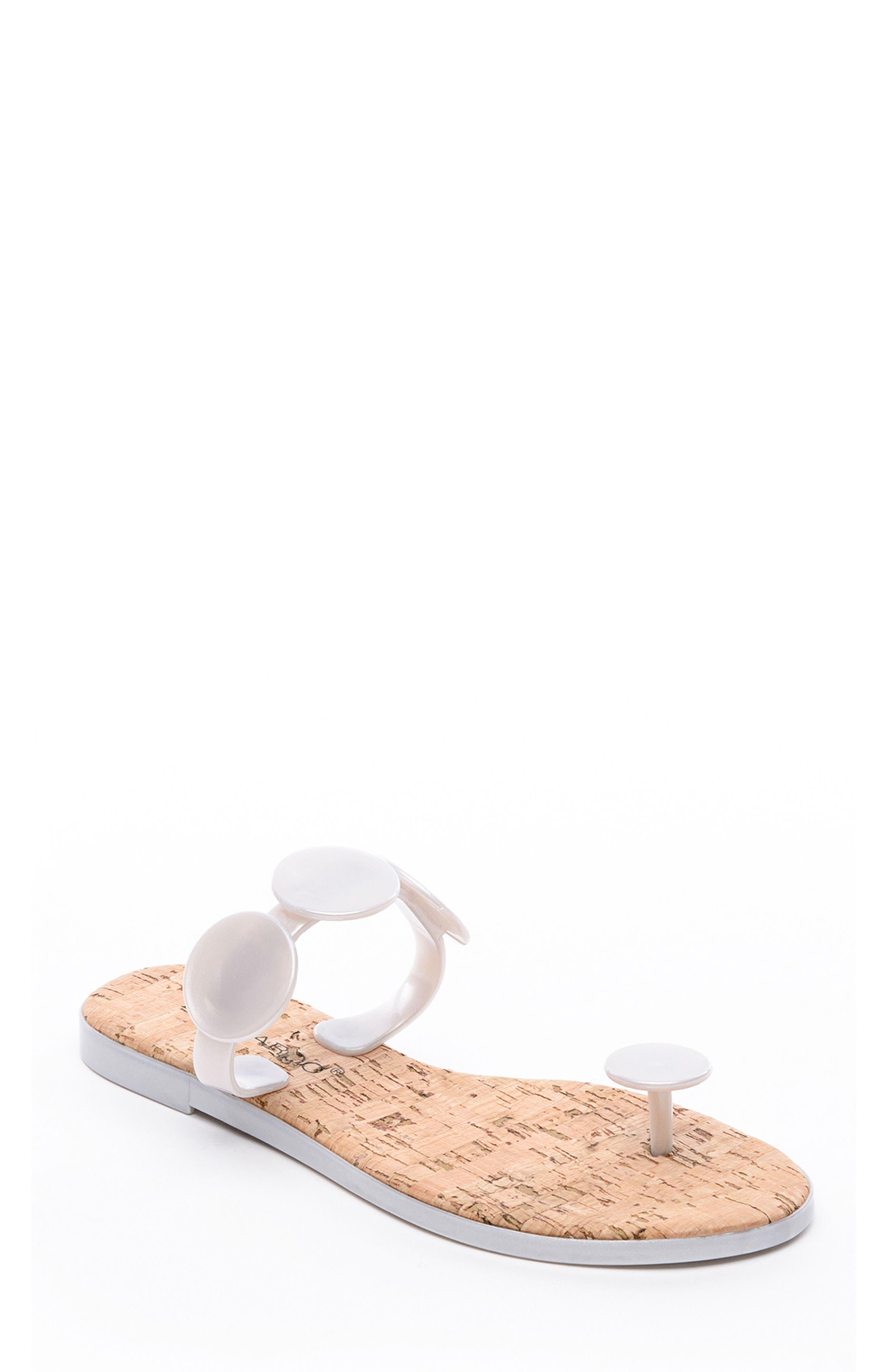 Bernardo New Moon Sandal, Metallic