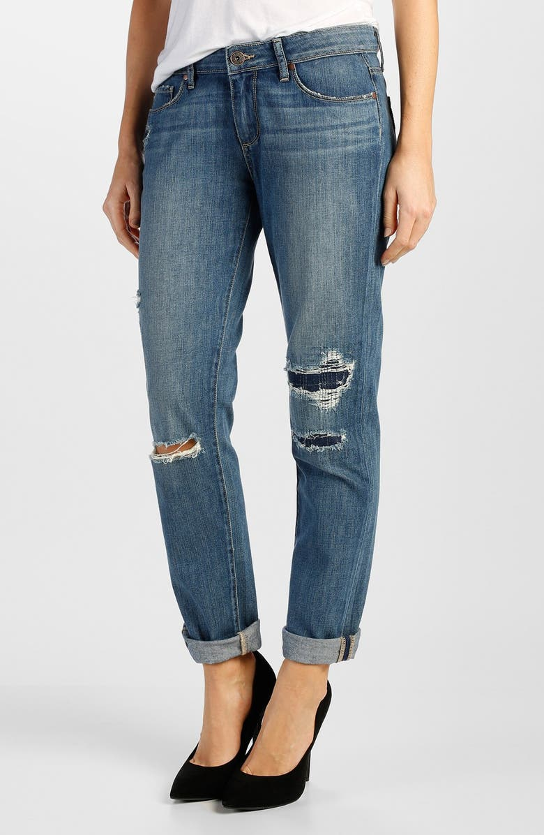 PAIGE Denim 'Jimmy Jimmy' Boyfriend Jeans, Main, color, 400