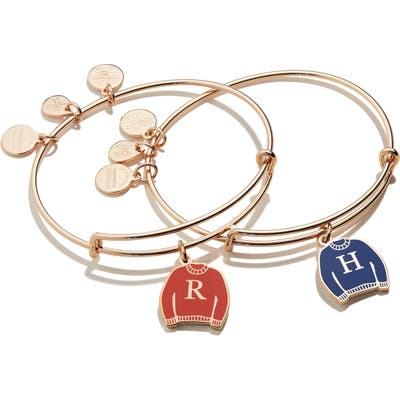 Alex And Ani Pack Of 2 Harry Potter Best Friend Sweater Adjustable Wire Bangles