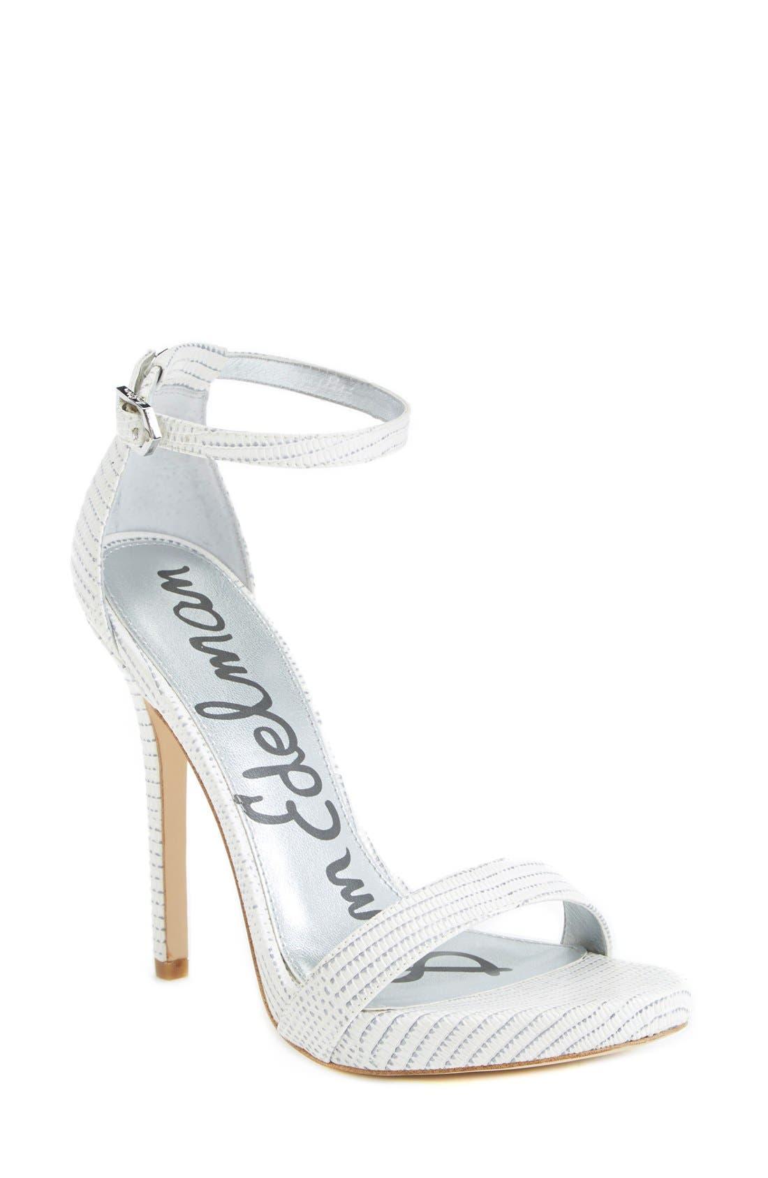 ,                             'Eleanor' Ankle Strap Sandal,                             Main thumbnail 79, color,                             100